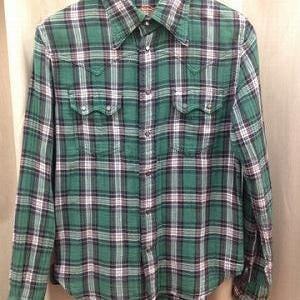 TMT/長袖チェックシャツ オンラインショップ商品のご紹介