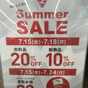 saleのご案内^^★