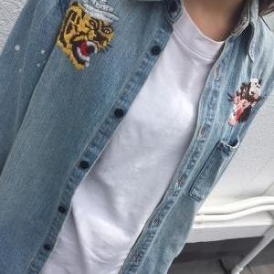 刺繍デニムシャツ!!!!