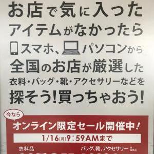 オンラインSALE開催中!!!