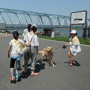 アクティビティレポート in 河川敷