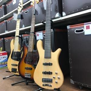 エレキベースギター大量入荷!