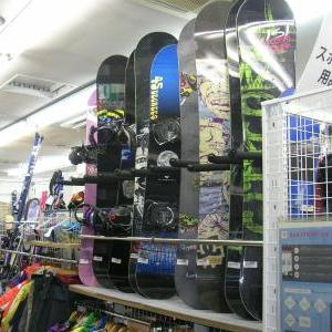 スノーボード展開いたしました。