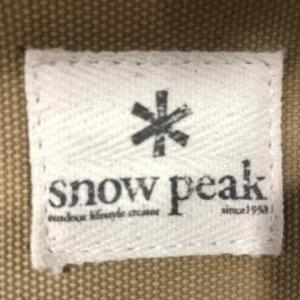 snow peak!!!