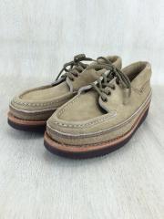 ブーツ/US7.5/BEG/スウェード