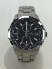 ソーラー電波腕時計/アナログ/OCEANUS/マンタ/箱コマ有