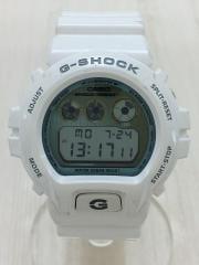クォーツ腕時計・G-SHOCK/デジタル/BLU/WHT