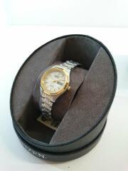 Eco-Drive Sport Two-Tone Watch/EW3144-51A/アナログ/ゴールドライン