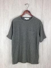 Tシャツ/M/コットン/KHK/無地
