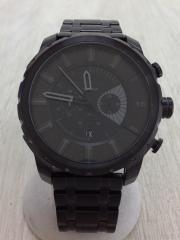 dz4349/ストロングホールド/クォーツ腕時計/アナログ/指定外繊維/BLK/BLK