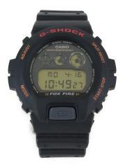 DW-6900B/STANDARD BASIC FOX FIRE/クォーツ腕時計/デジタル/ラバー/BLK