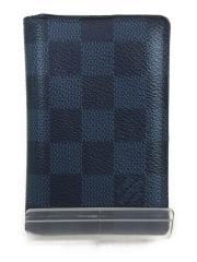 オーガナイザー・ドゥ ポッシュ_ダミエコバルト/N63210/CI2194/箱・袋有/PVC