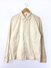 2019model/オープンカラーシャツ/XL/コットン/CRM/596-0150503