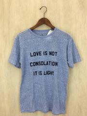 Tシャツ/2/コットン/BLU