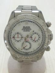 クォーツ腕時計/アナログ/FK-1289-SL/ベルト・ベゼル傷有