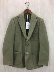 テーラードジャケット/46/コットン/KHK/1425600