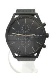 クォーツ腕時計/アナログ/ステンレス/ブラック/黒色/SKW6651/セカスト/セカンドストリート