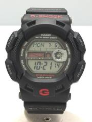 G-SHOCK/クォーツ腕時計/カシオ/デジタル/ラバー/BLK/BLK/G-9100