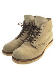 ブーツ/US8.5/スウェード/05年製/専用中敷き付/ソール減り有