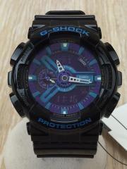 クォーツ腕時計・G-SHOCK/デジアナ/BLK/GA-110HC-1AJF
