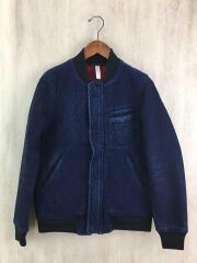 藍染ブルゾン/S/コットン/IDG/インディゴ/pr-kq-62329