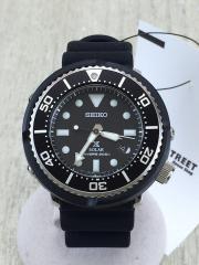 ソーラー腕時計/アナログ/BLK/BLK/箱有/PROSPEX