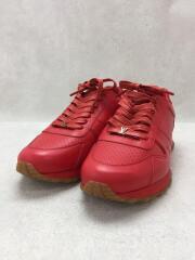 スニーカー/27cm/UK8/17AW/レッド/レザー/×SUPREME/Run Away Sneaker