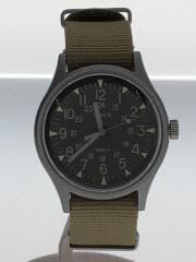 MK1 アルミニウム クォーツ TW2T10300/ブラック×カーキ