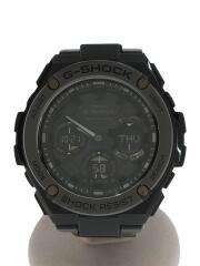 ソーラー腕時計/アナログ/--/GRY/GRY