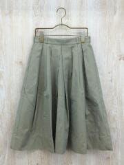 スカート/36/コットン/BEG/マカフィ