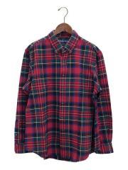 ネルシャツ/XL/コットン/RED/ラルフローレン