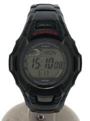 ソーラー腕時計・G-SHOCK/デジタル/BLK/ブラック