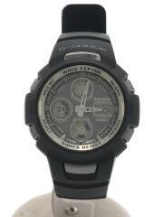 ソーラー腕時計・G-SHOCK/デジアナ/BLK/ブラック