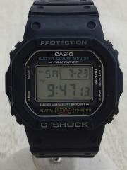 クォーツ腕時計/デジタル/PVC/BLK/ジーショック