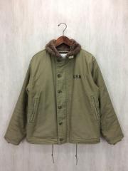 N1デッキジャケット/38/ポリエステル/KHK