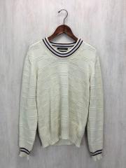セーター(薄手)/44/コットン/IVO(生成り)