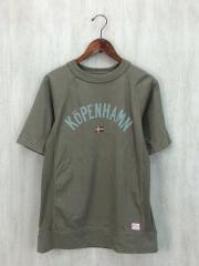 Tシャツ/5/コットン/KHK