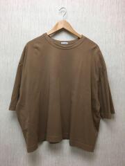 Tシャツ/M/コットン/BRW/無地/GKM-2764