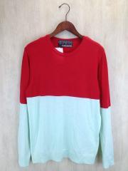 casseta/セーター(薄手)/--/コットン/RED