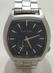 クォーツ腕時計/アナログ/BLU