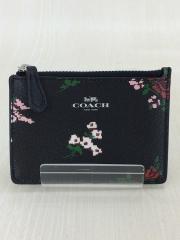 カードケース/フェイクレザー/BLK/無地/レディース