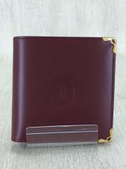 2つ折り財布/レザー/BRD/L3000451