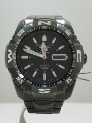 セイコー/自動巻腕時計/アナログ/ステンレス/ブラック/7S36-04M0