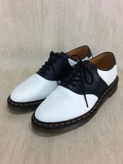 Rafi Saddle Shoe/UK9/BLK/レザー/13845101