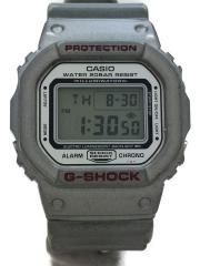 クォーツ腕時計/デジタル/KHK/GRY