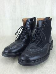 ×NEPENTHES/ブーツ/UK8.5/BLK
