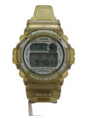 クォーツ腕時計・G-SHOCK/デジタル/ラバー/SLV