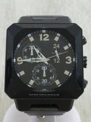 クォーツ腕時計/アナログ/BLK/BLK/J501-003701-01