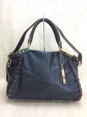 VINCE CAMUTO/トートバッグ/レザー/BLK