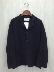 テーラードジャケット/L/ウール/BLK
